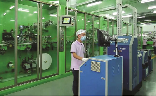 Production Line Of Winion Sanitary Napkin